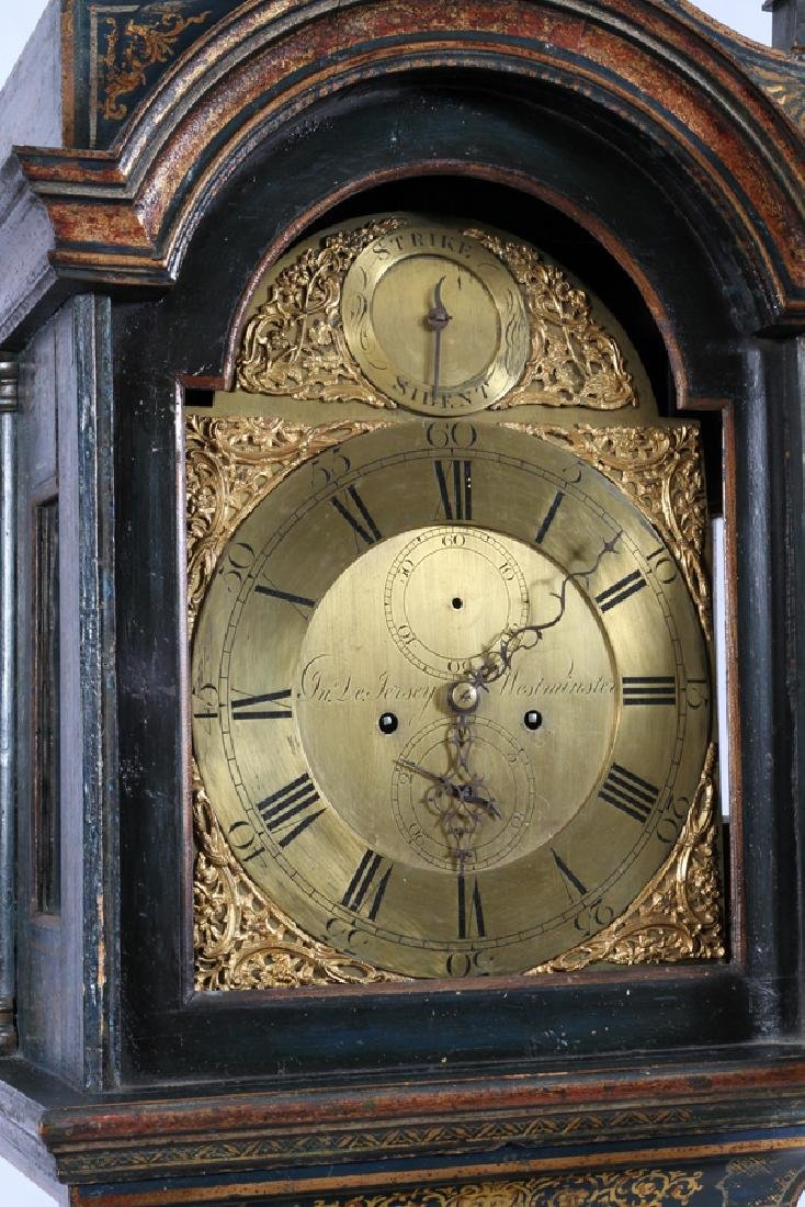 CHINOISERIE GRANDFATHER CLOCK - 4