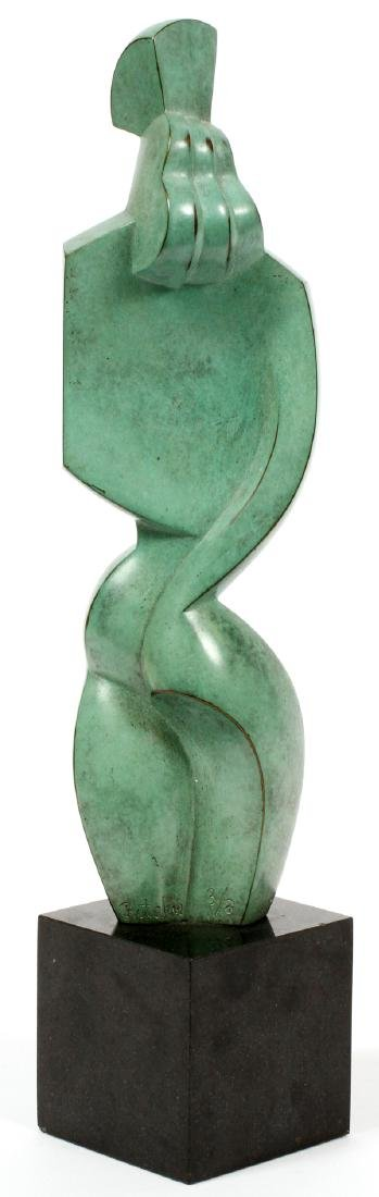 JIM RITCHIE BRONZE SCULPTURE - 2