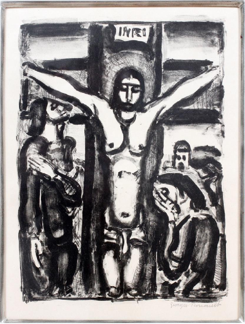 GEORGES HENRI ROUAULT LITHOGRAPH 1932