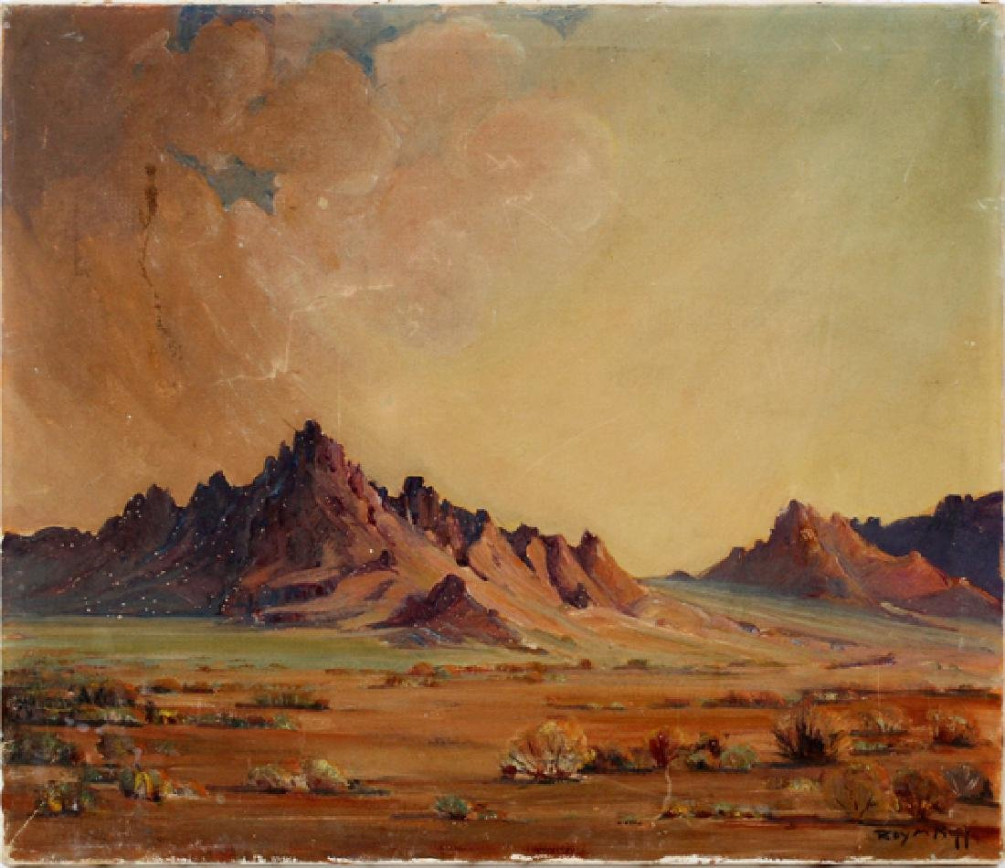 ROY M. ROPP OIL ON CANVAS