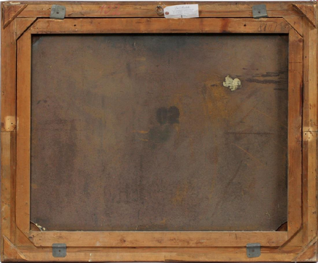 UNSIGNED AUSTRIAN OIL ON WOOD PANEL - 3