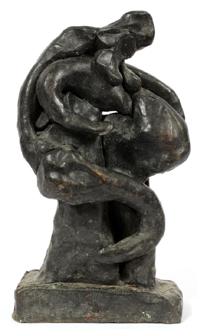 UNKNOWN ARTIST BRONZE SCULPTURE
