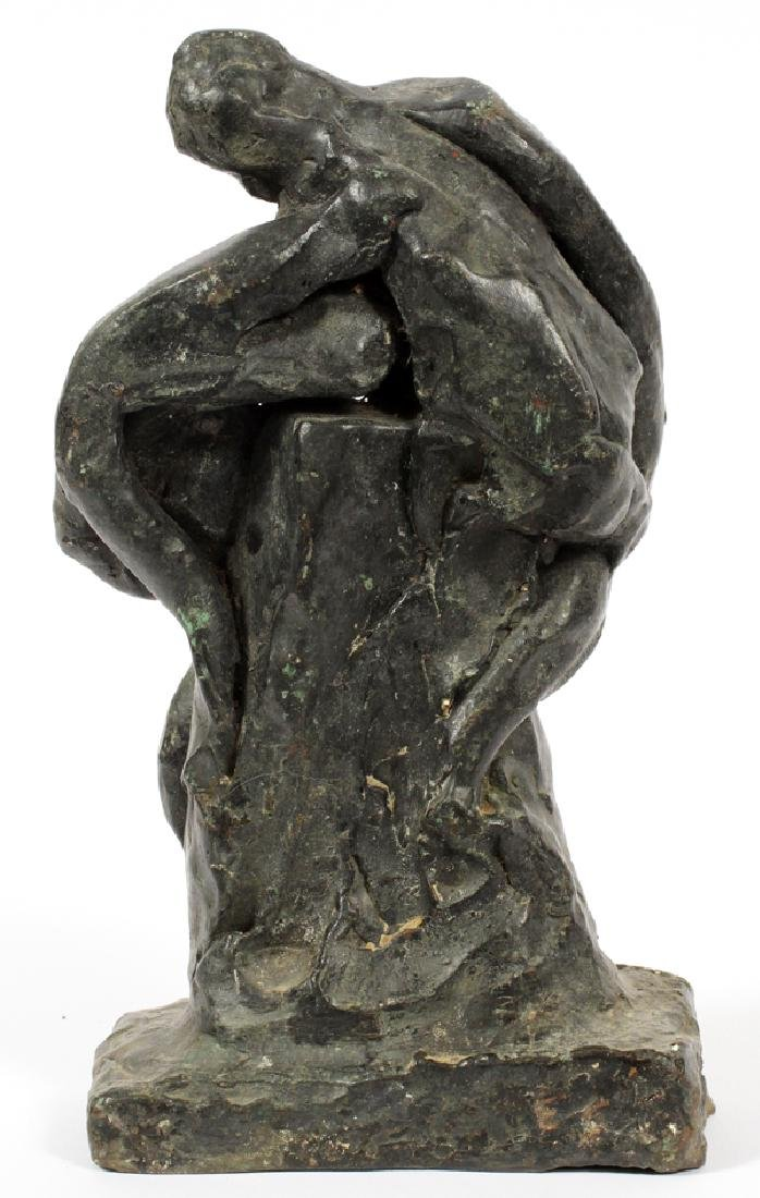 UNKNOWN ARTIST BRONZE SCULPTURE - 2