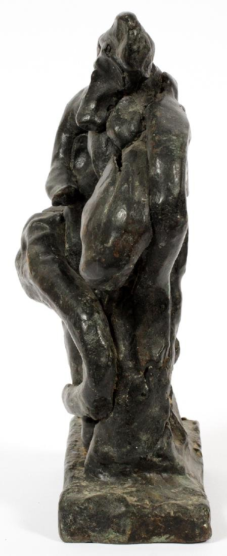 UNKNOWN ARTIST BRONZE SCULPTURE - 3
