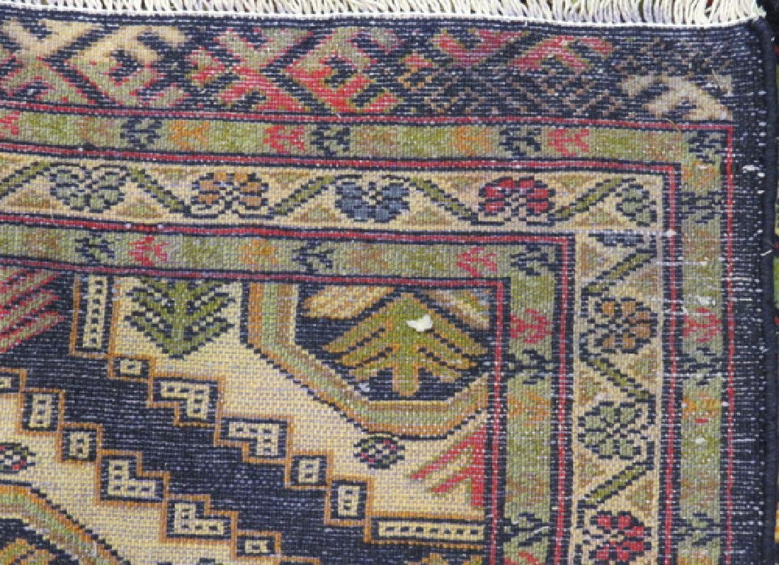 PERSIAN TURKOMAN WOOL RUNNER 1980/90 - 3