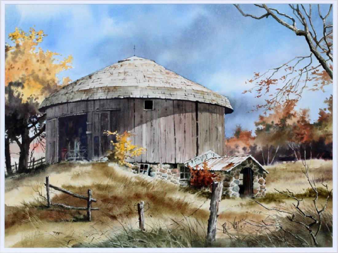 PHIL CAPEN WATERCOLOR