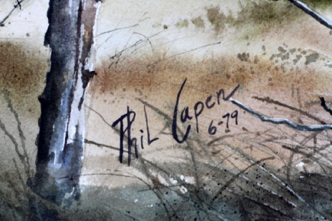 PHIL CAPEN WATERCOLOR - 3