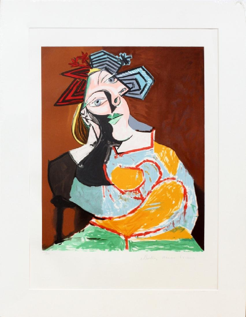 AFTER PABLO PICASSO LITHOGRAPH ON ARCHES PAPER