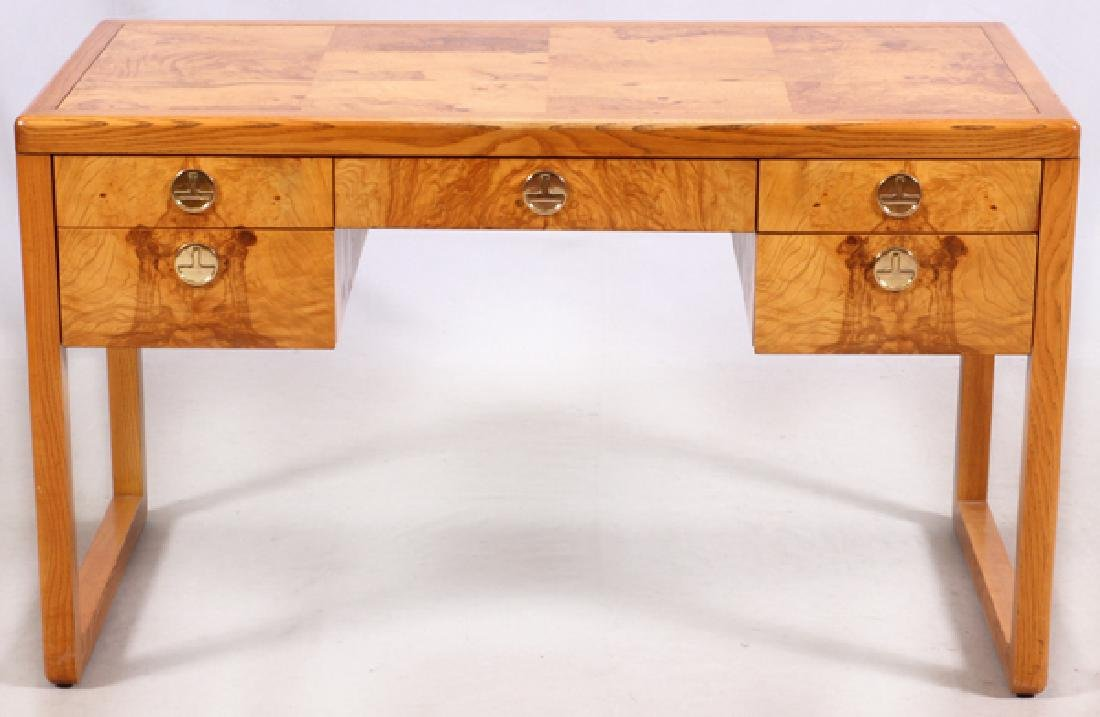 SLIGH FURNITURE CO. BURLWOOD DESK