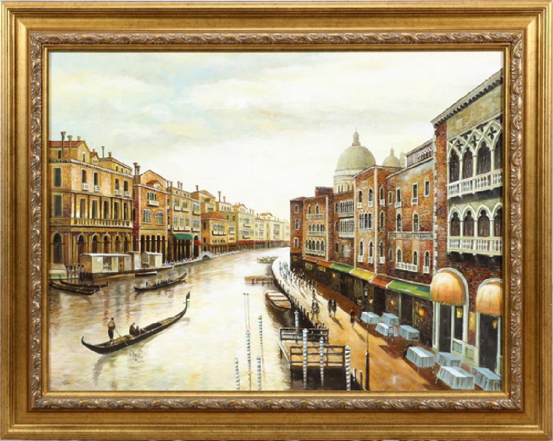 PICTURE ON CANVAS VENICE