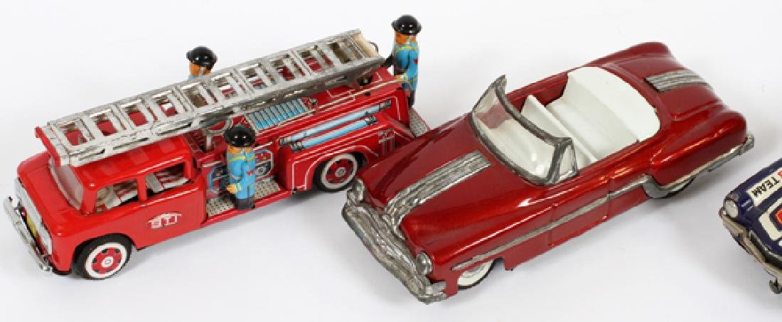 METAL TOY VEHICLES, FOUR - 3