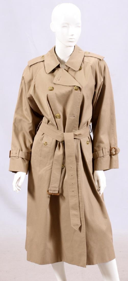 BURBERRY WOMEN'S CLASSIC TRENCH COAT, L 47""