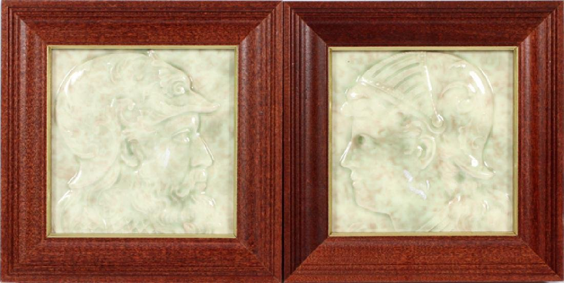 CAMBRIDGE PORCELAIN TILES, 2 PCS.