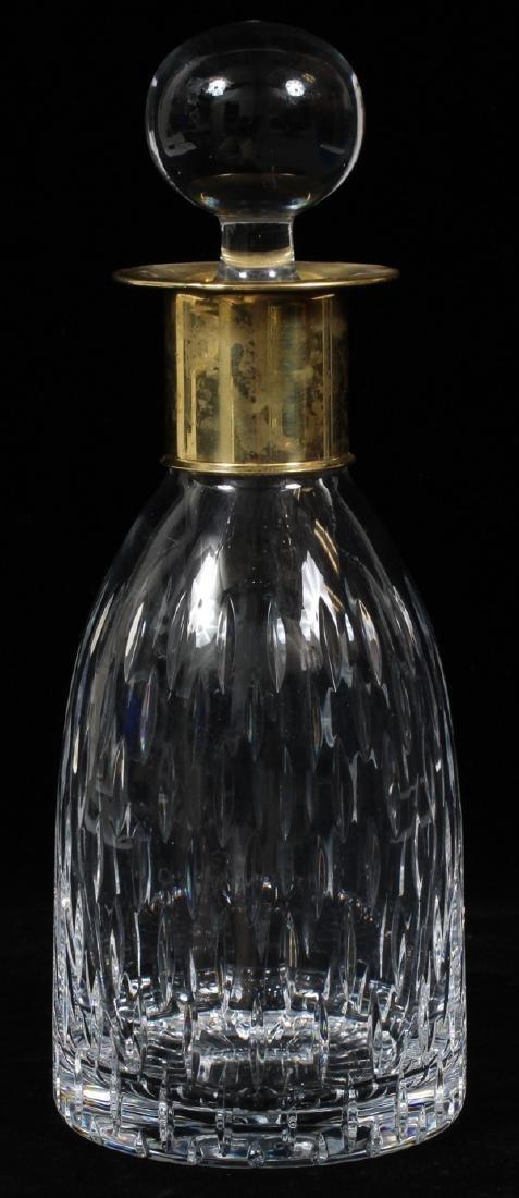 "BLOWN GLASS WINE DECANTER H 11"""