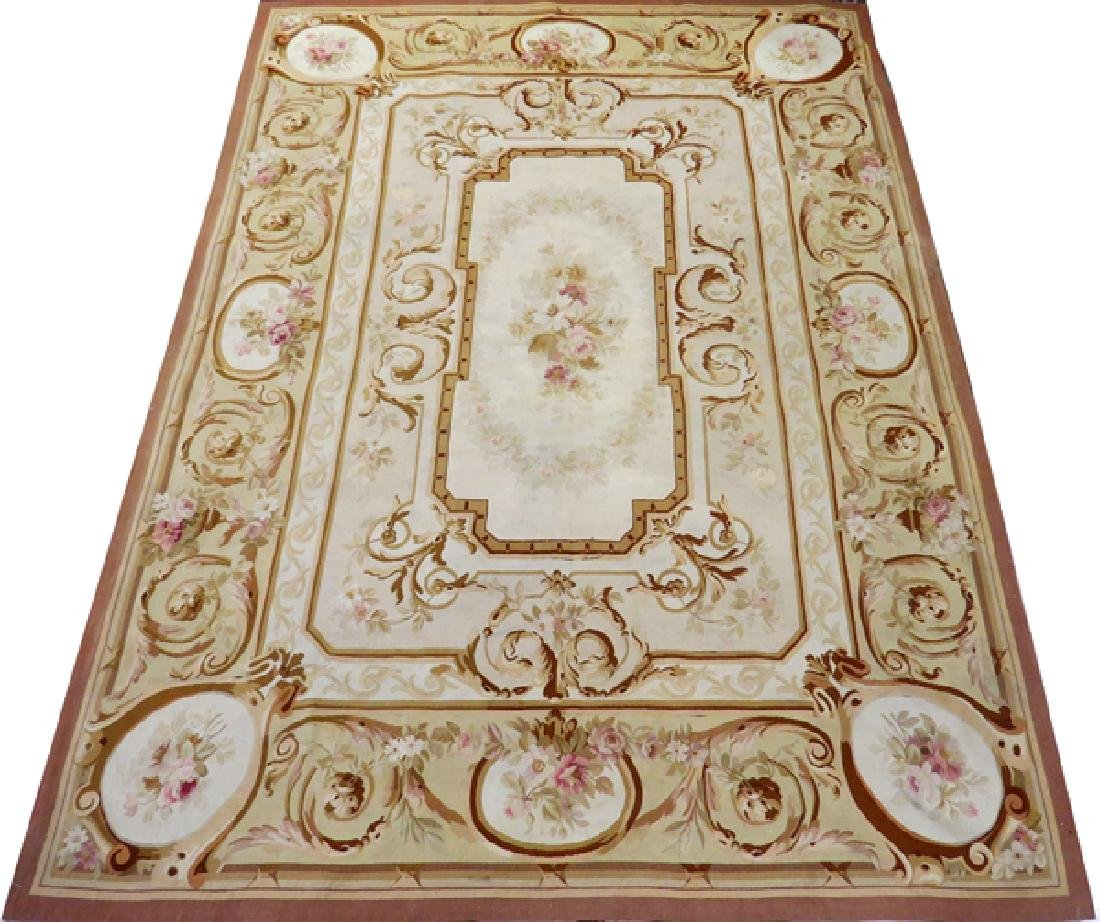 NAPOLEON III AUBUSSON CARPET 19TH C.