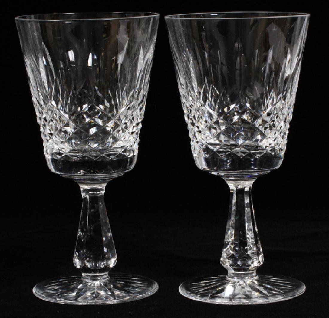 WATERFORD CRYSTAL GOBLETS & 'WEST HAMPTON' STEINS - 3