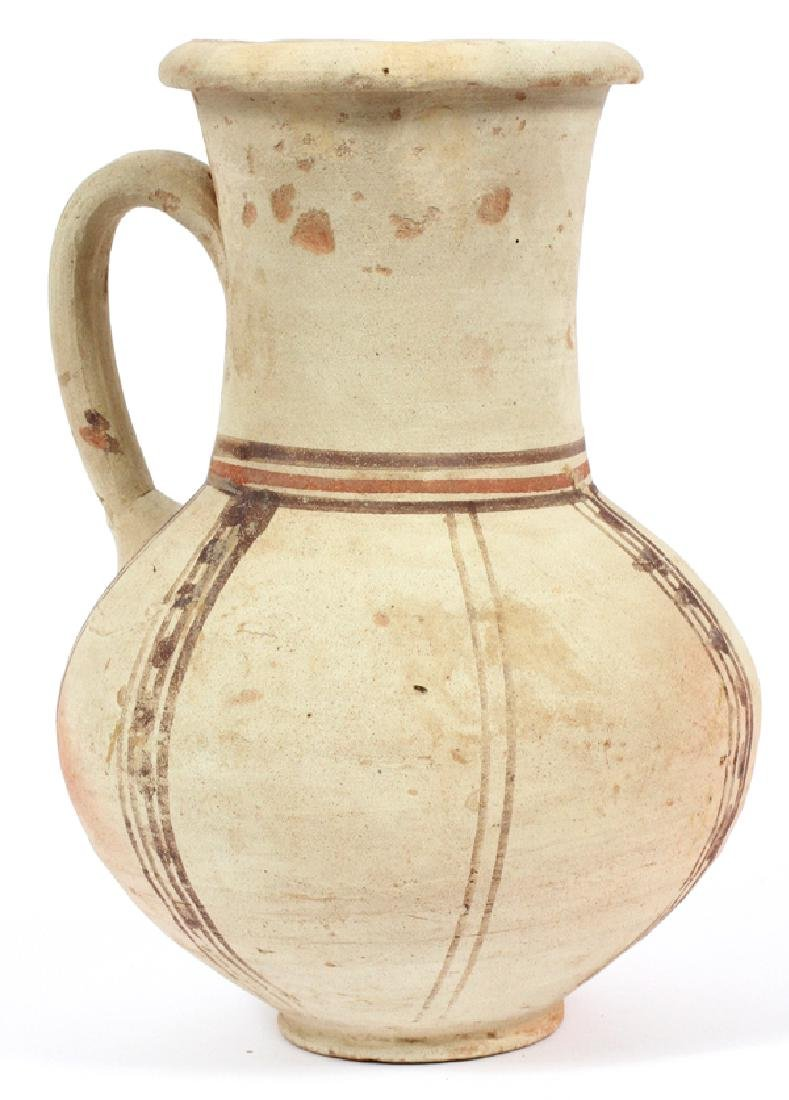 CYPRIOT STYLE BICHROME-WARE POTTERY JUG