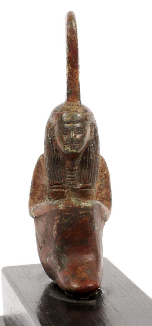 EGYPTIAN, BRONZES, 2 - 10