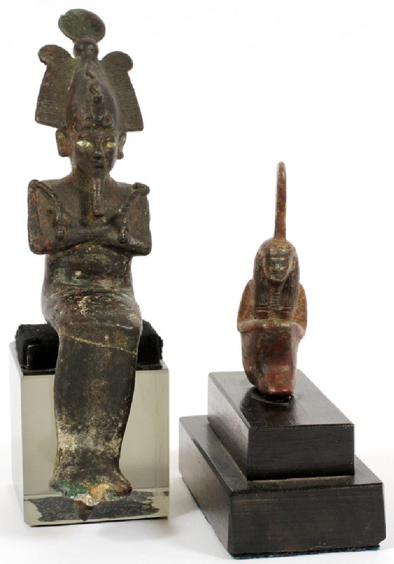 EGYPTIAN, BRONZES, 2