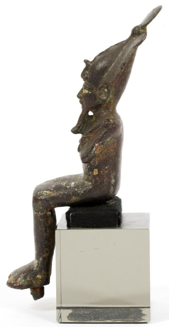 EGYPTIAN, BRONZES, 2 - 3