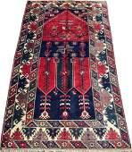 SHIRAZ HAND WOVEN WOOL PERSIAN RUG W 4 L 6 9