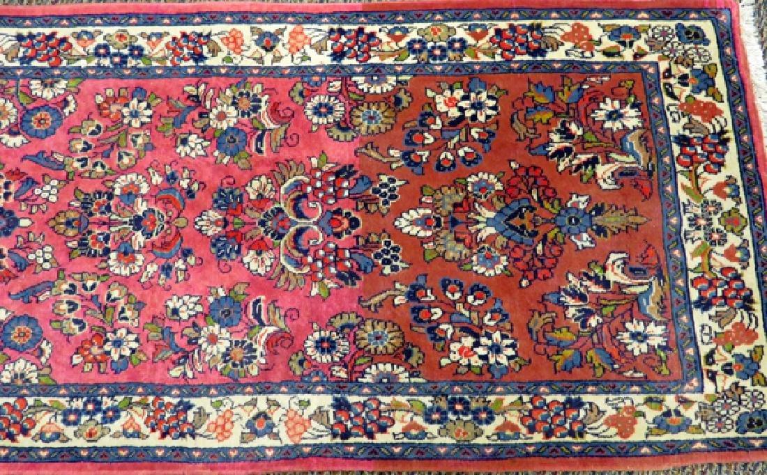 PERSIAN SAROUK HAND WOVEN WOOL RUNNER - 2