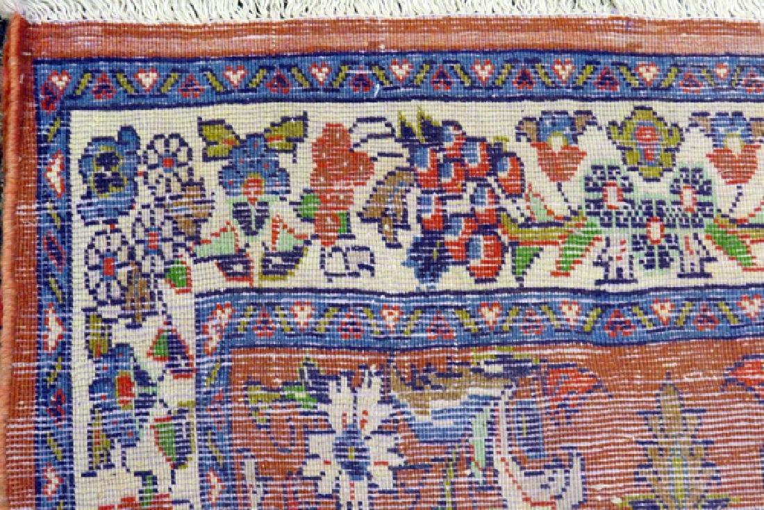 PERSIAN SAROUK HAND WOVEN WOOL RUNNER - 4
