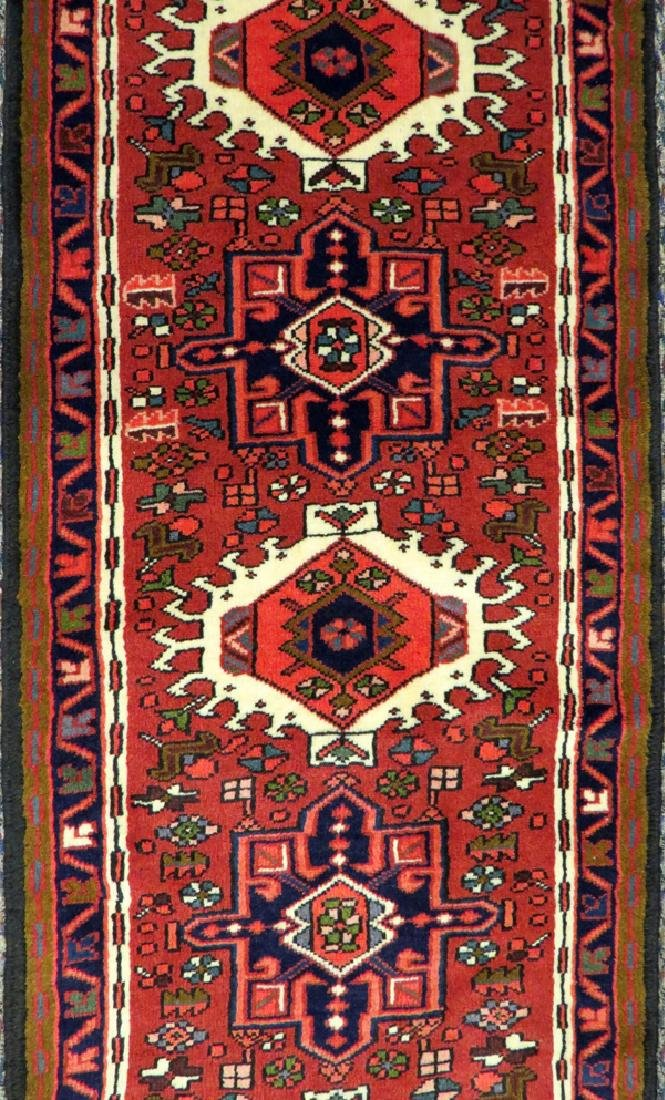 KARAJEH HAND WOVEN WOOL PERSIAN RUNNER - 2