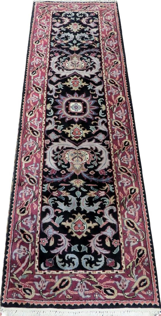 MOGHOL INDIAN HAND WOVEN WOOL RUNNER