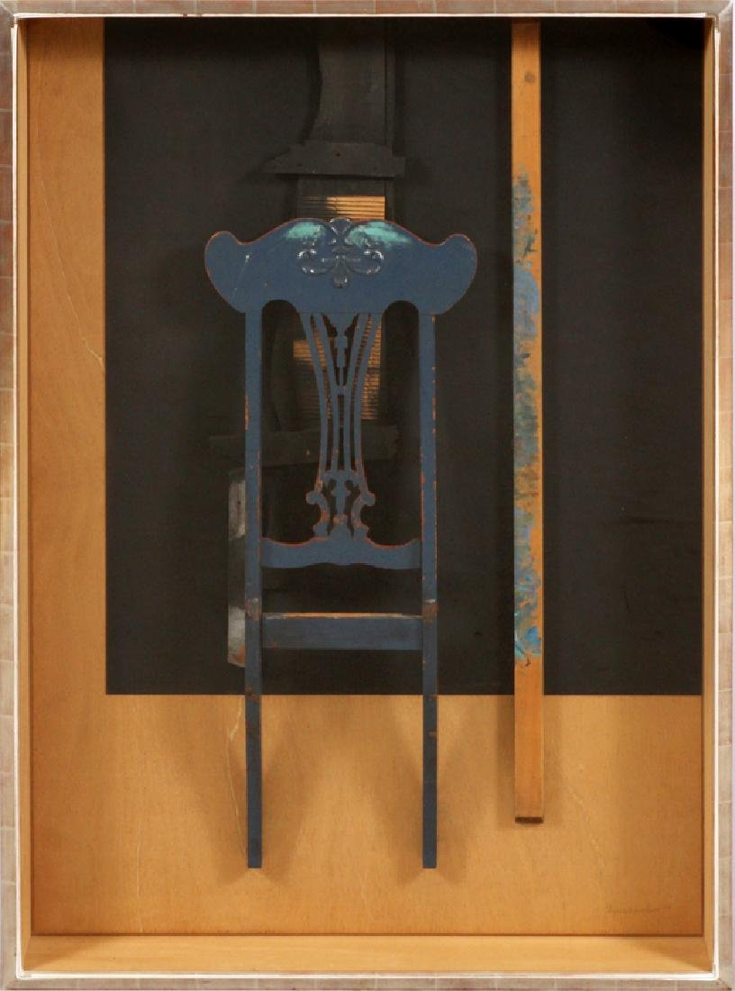 LOUISE BERLIAWSKY NEVELSON ASSEMBLAGE, 1979