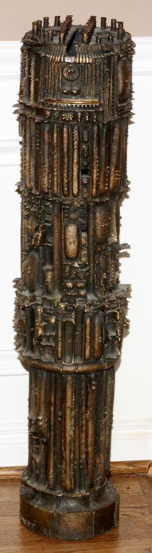 JULIUS SCHMIDT, (1923-17) BRONZE SCULPTURE, 1963 - 3