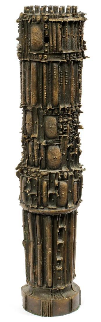 JULIUS SCHMIDT, (1923-17) BRONZE SCULPTURE, 1963 - 7