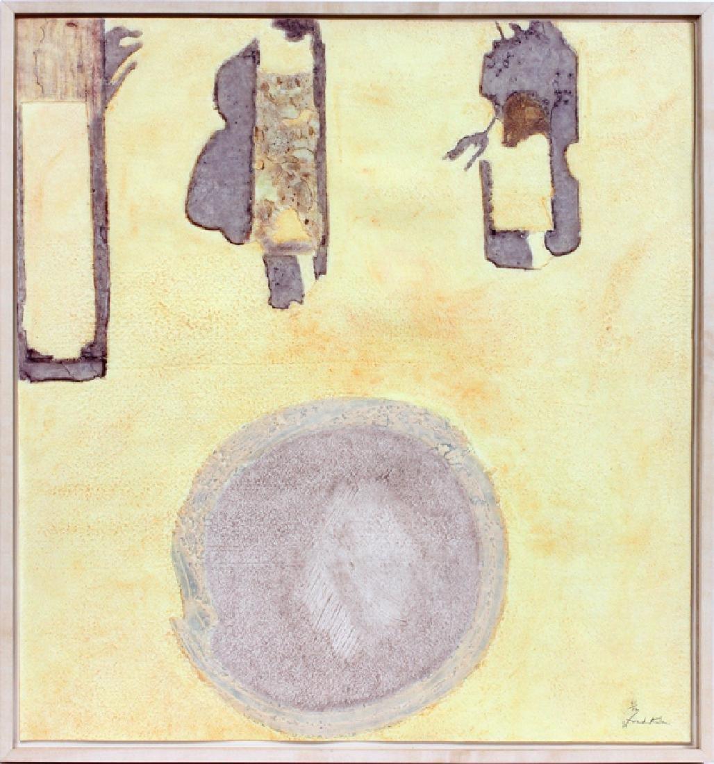 HELEN FRANKENTHALER COLOR MIXOGRAFIA ON PAPER