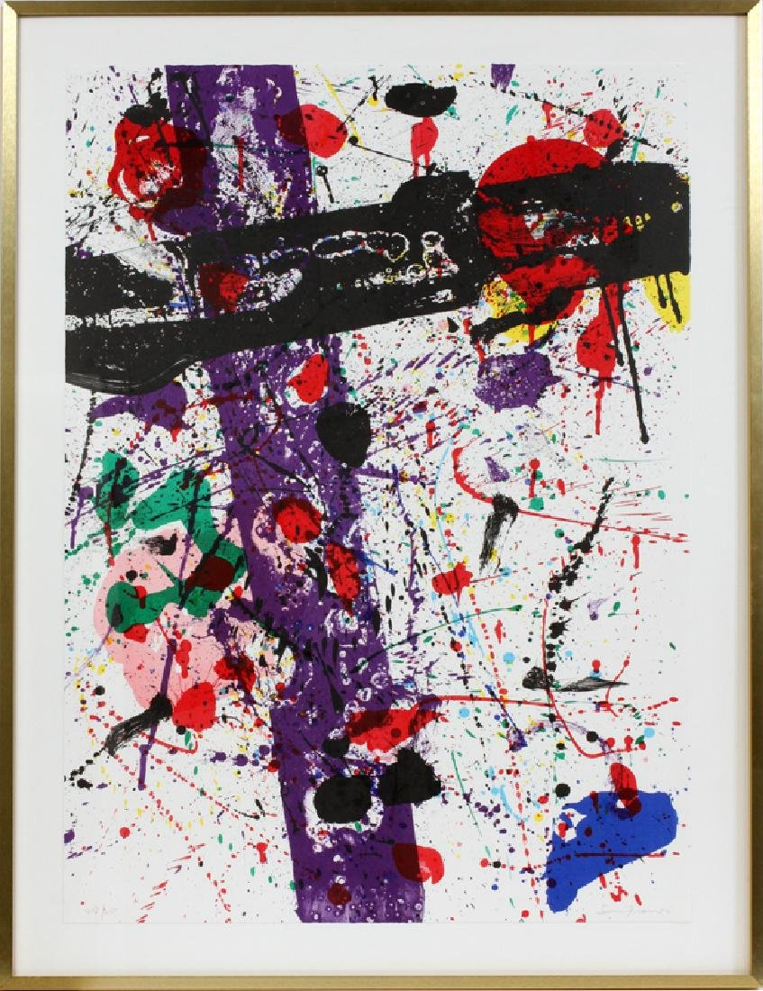 """SAM FRANCIS COLOR LITHOGRAPH FROM """"EIGHT BY EIGHT"""""""