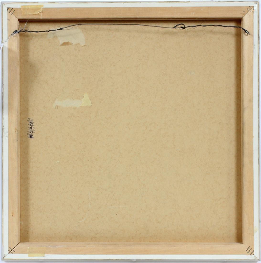 "ROBERT RYMAN CIRCLE LITHOGRAPH 1971 ""TWO STONES"" - 5"