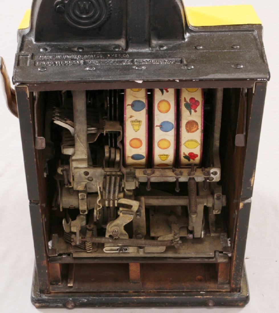 """""""ROL-A-TOP"""" SLOT MACHINE, H 27'', W 15'', L 15'' - 3"""