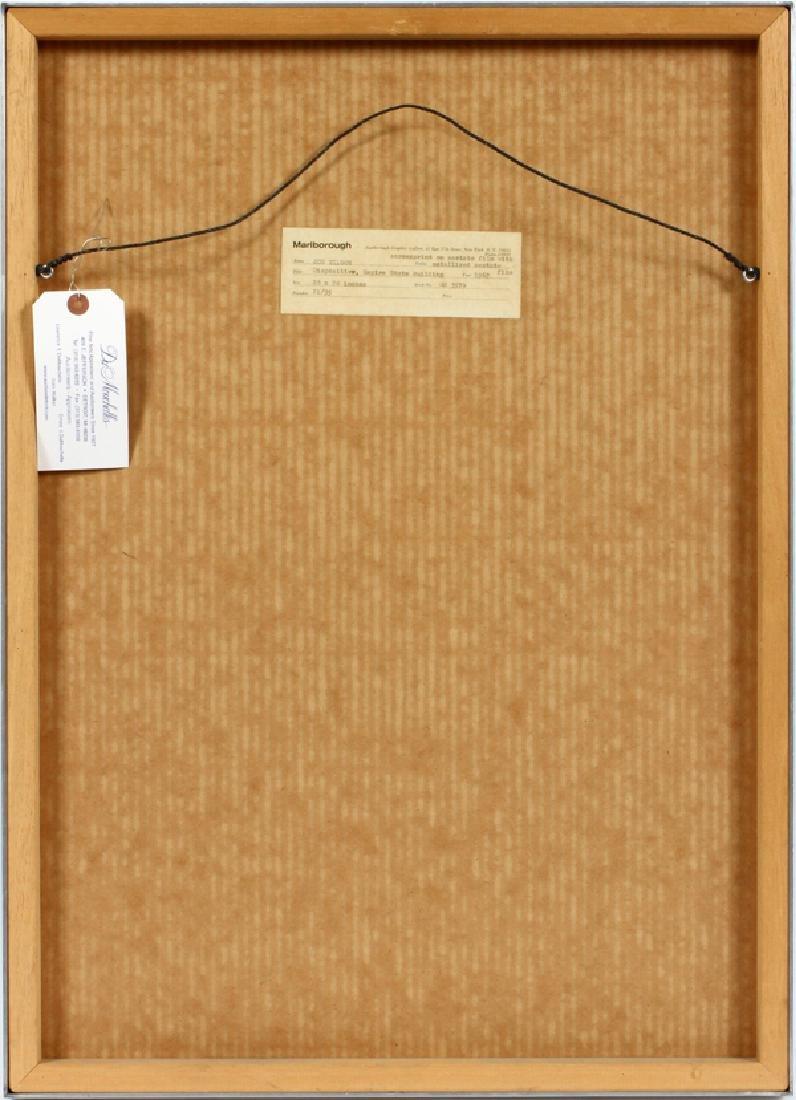 JOE TILSON SCREENPRINT WITH ACETATE, 1967 - 4