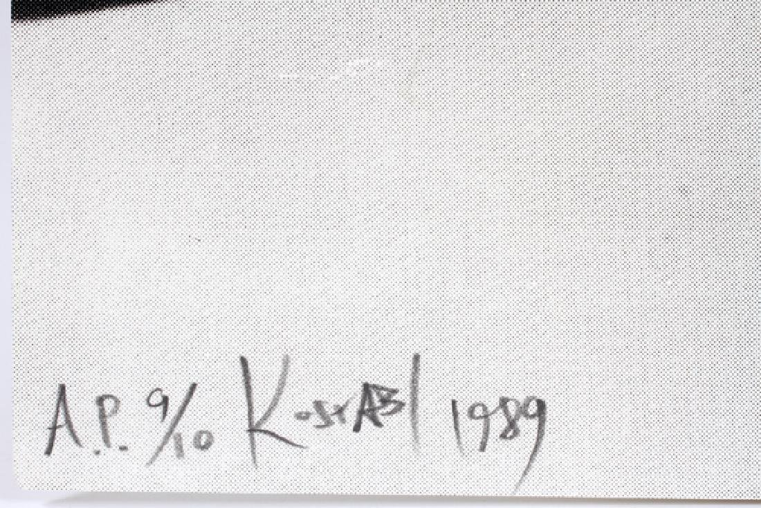 "MARK KOSTABI SCREENPRINT 1989 ""UPWARDLY"" - 2"