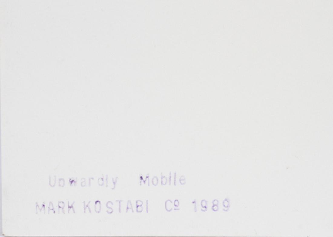 "MARK KOSTABI SCREENPRINT 1989 ""UPWARDLY"" - 4"