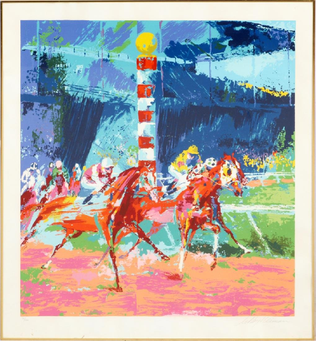 LEROY NEIMAN SCREENPRINT ON PAPER 1976