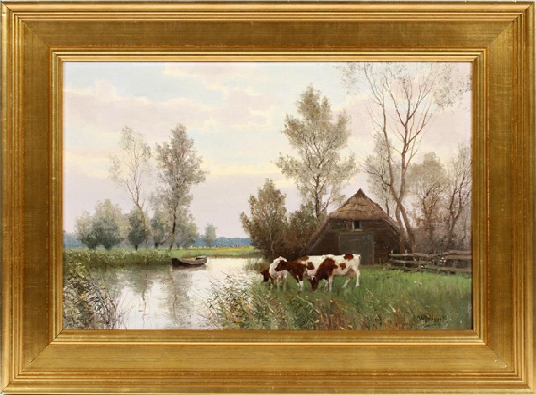 WILLEM JACOBUS ALBERTS OIL ON CANVAS