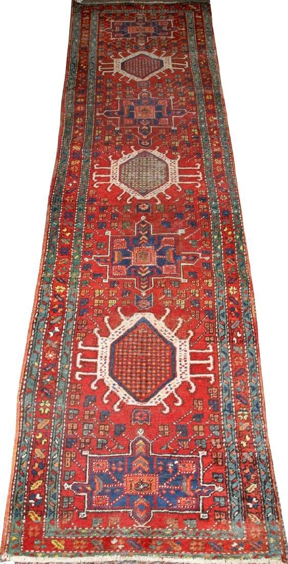 HERIZ PERSIAN ORIENTAL RUNNER C 1920