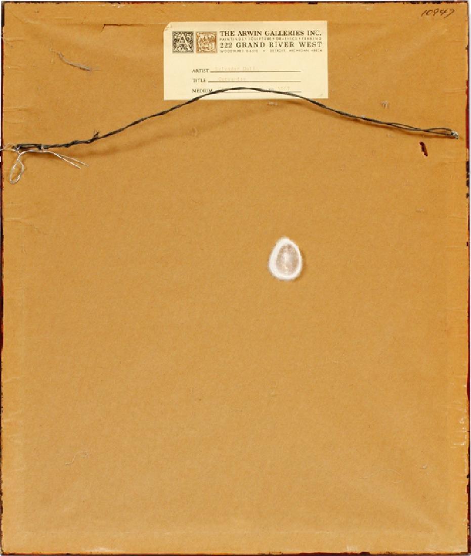 "AFTER SALVADOR DALI ETCHING, 1967 ""CERVANTES"" - 4"