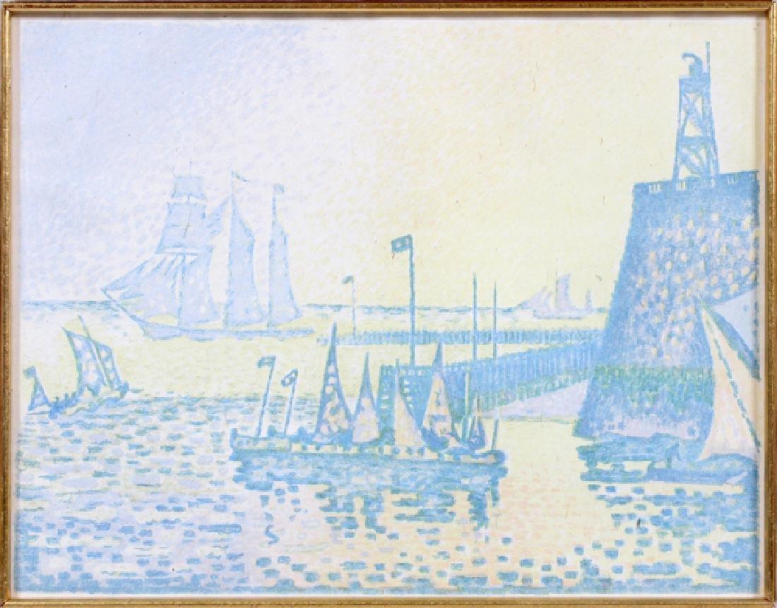 PAUL SIGNAC COLOR LITHOGRAPH C. 1897-1898