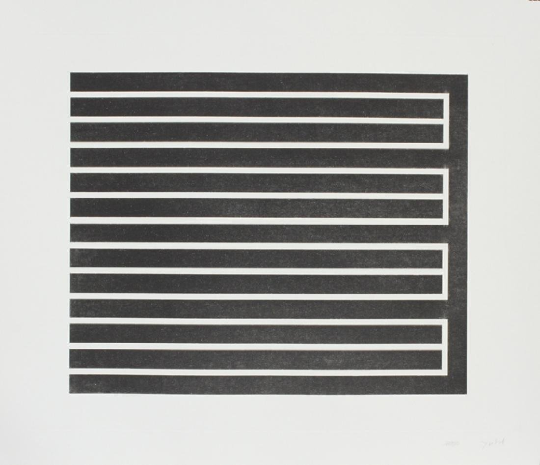 DONALD JUDD AQUATINT ON PAPER C. 1980 12/150