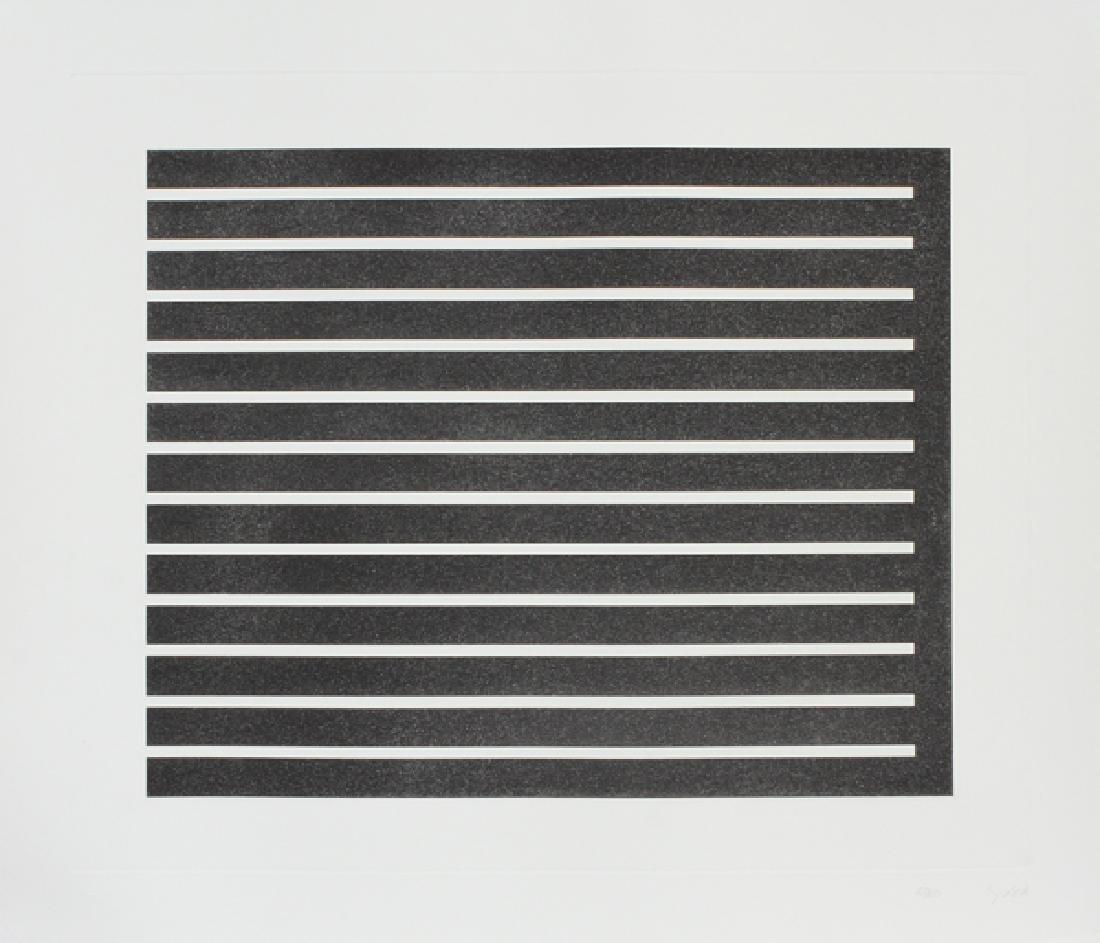 DONALD JUDD AQUATINT ON PAPER C. 1980, 27/150