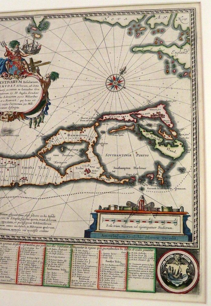ATTRIBUTED TO WILLEN BLAEU 2 ENGRAVED MAPS - 11