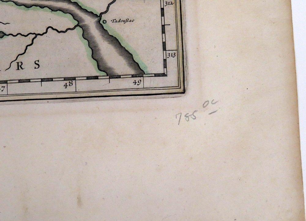 ATTRIBUTED TO WILLEN BLAEU 2 ENGRAVED MAPS - 16