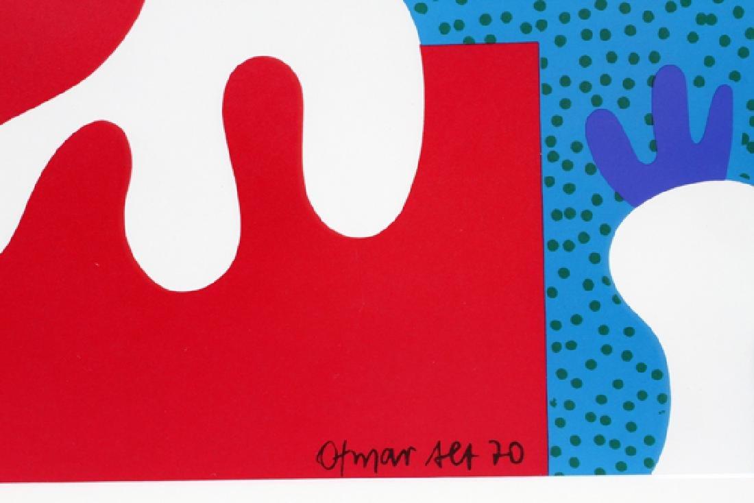 OTMAR ALT SERIGRAPH 1970 MUNICH 1972 OLYMPICS - 2