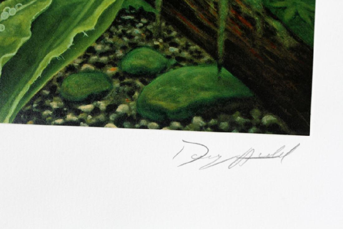 DOUG AULD COLOR OFFSET LITHOGRAPHS - 3